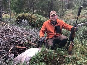 Peuran metsästys ajavalla kk-mäyräkoiralla- O.O.Lotta