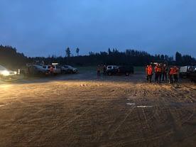 Peuran metsästys Ypäjällä kokoontuminen